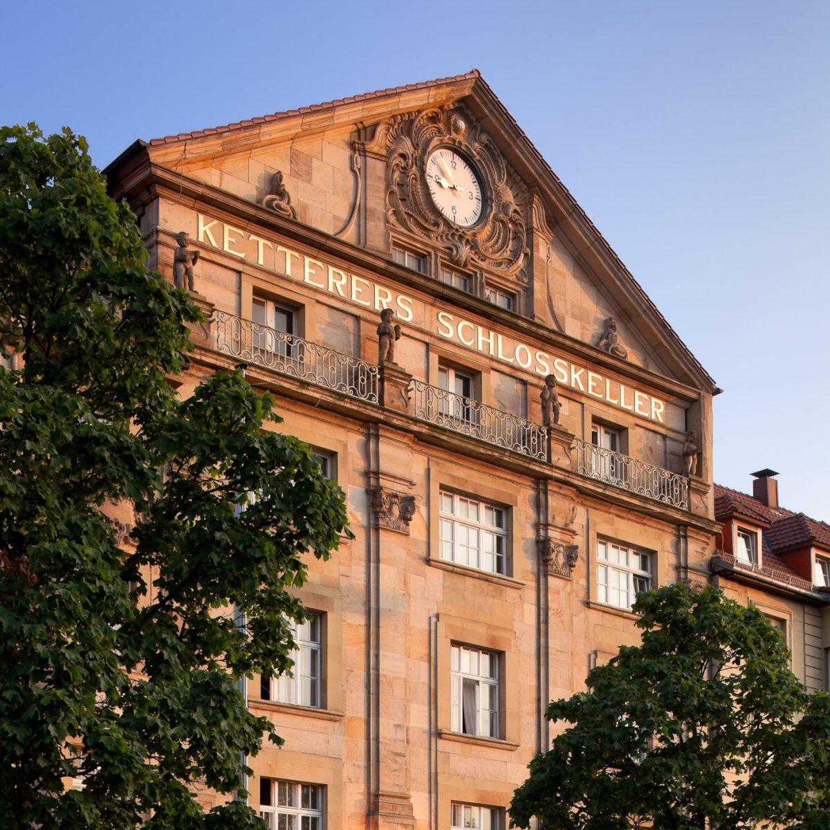 Ketterer Brauerei Gastronomie - Ketterers Schlosskeller - Aussen